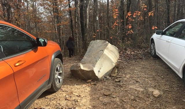 Whitaker Point parking