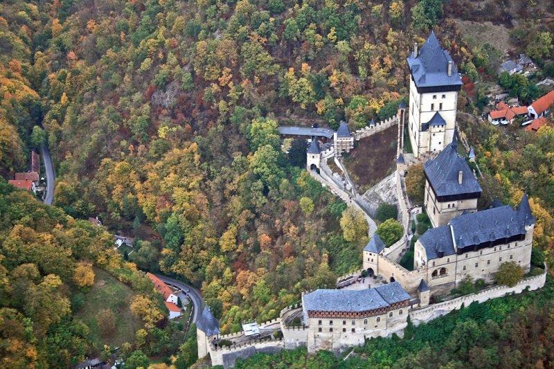 château fort Karlstein