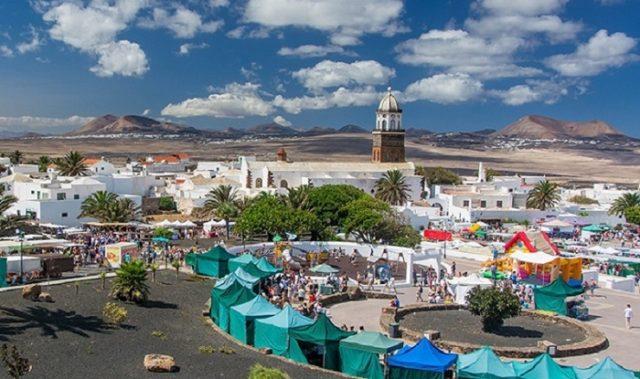 Le marché de Teguise à Lanzarote
