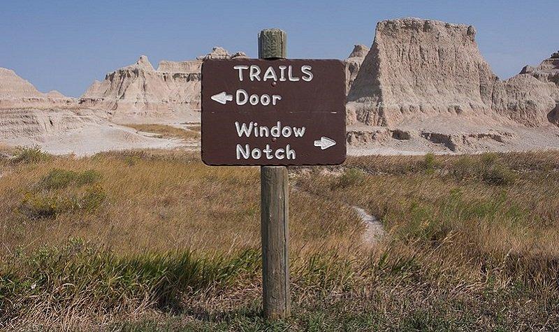 Door Trail Parc national des Badlands