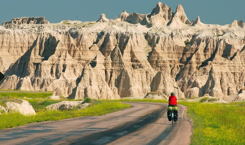 Parc national des Badlands vélo
