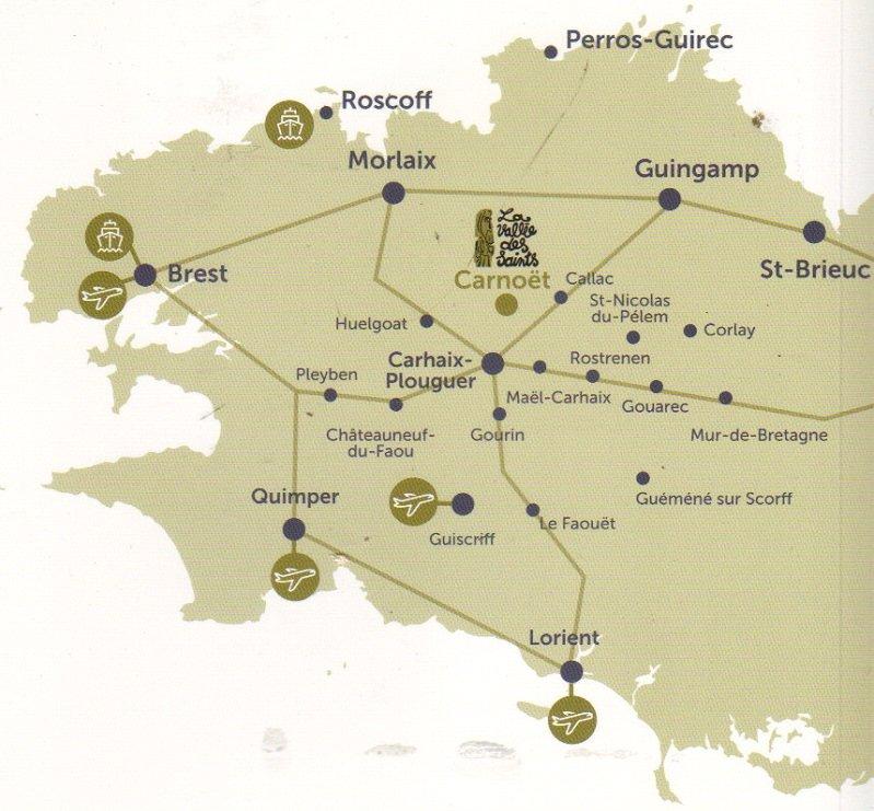 carte vallée des saints