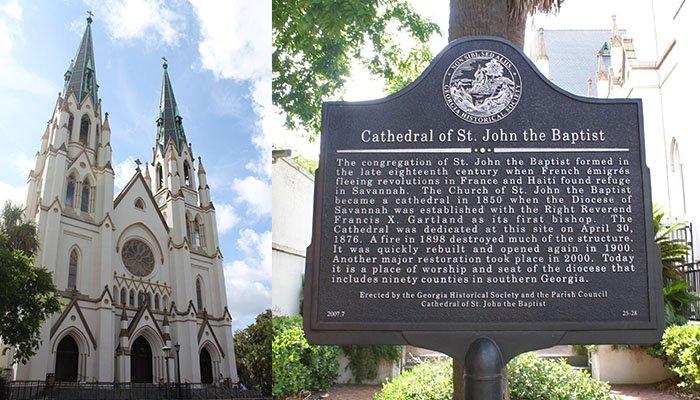 cathédrale st john savannah