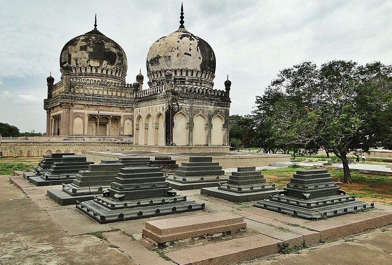 tombes Qutub Shahi hyderabad