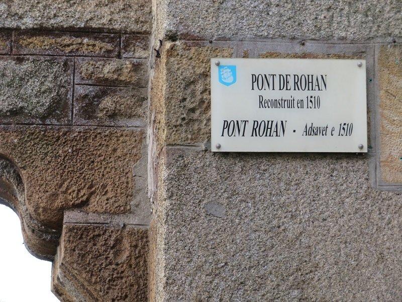 Pont habité de Rohan