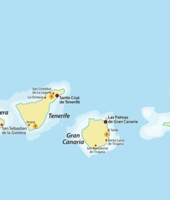 Voyager entre les îles Canaries
