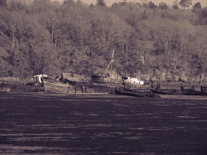 cimetière de bateau de Kerhervy