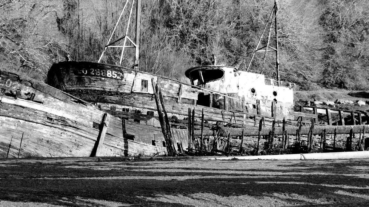 cimetière bateaux de Kerhervy