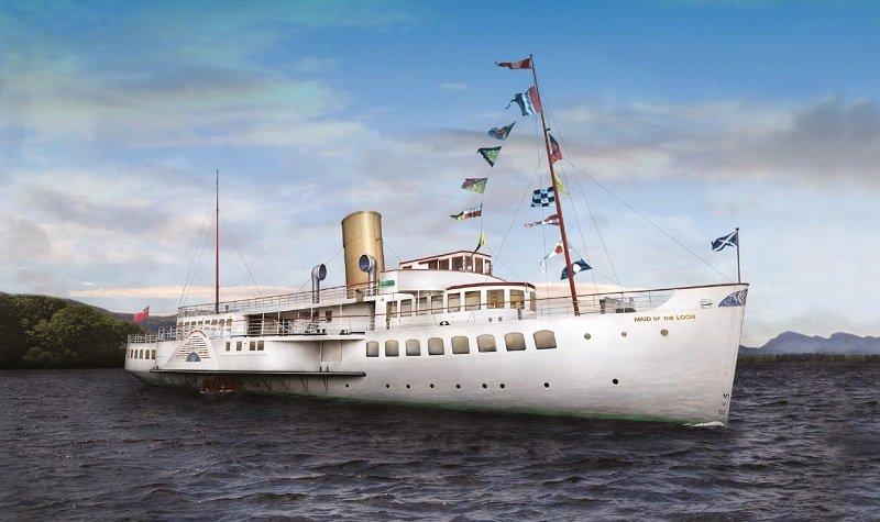 bateau loch lomond