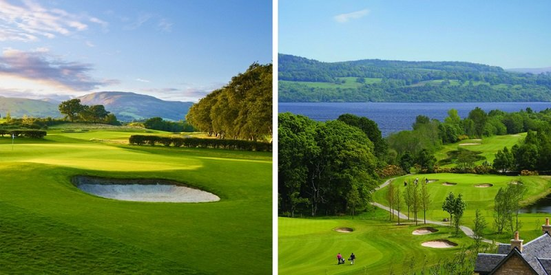 golf loch lomond