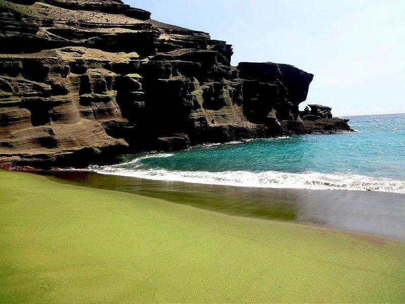 plage insolite à travers le monde