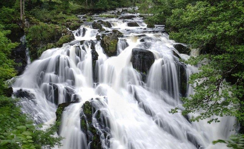 cascade snowdonia