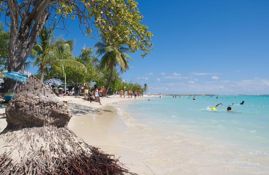 belles plages de guadeloupe