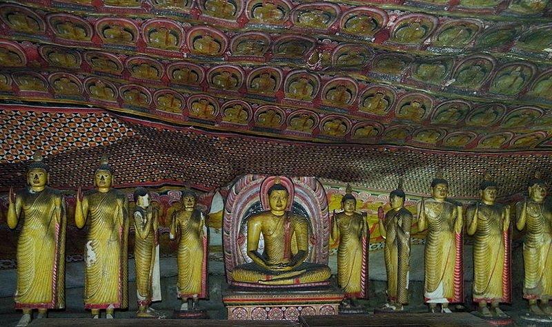 grottes dambulla