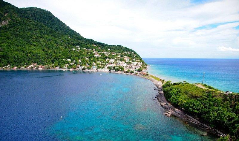 plages de la dominique