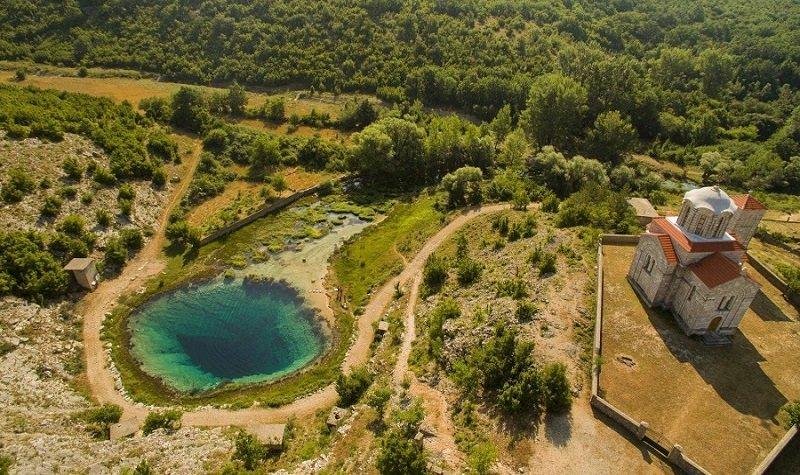 rivière Cetina Croatie
