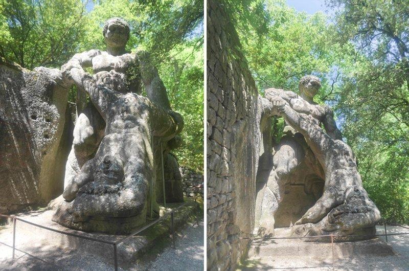 Hercule et Cacus bomarzo
