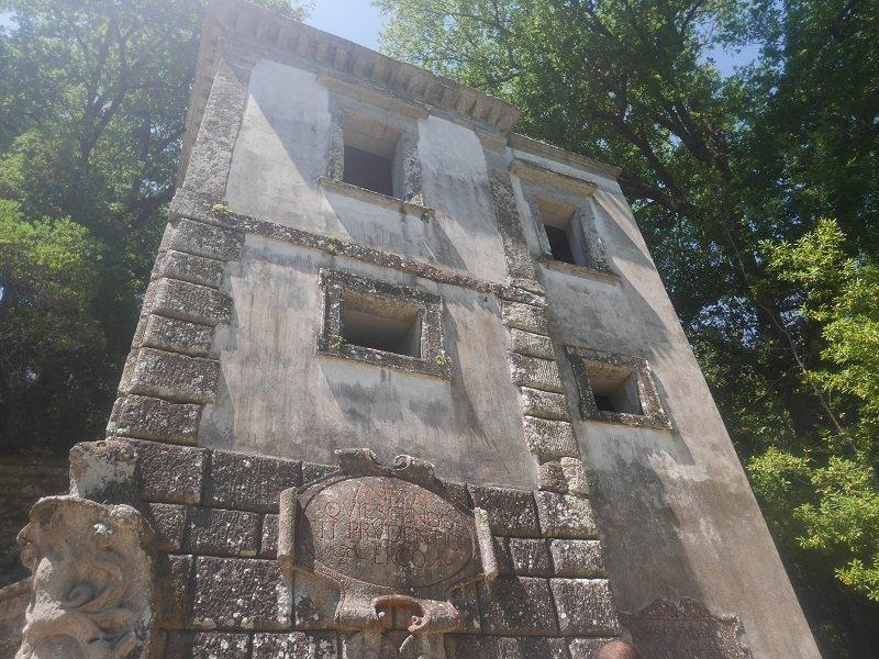 visiter les jardins de bomarzo