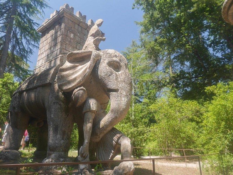 éléphant bomarzo
