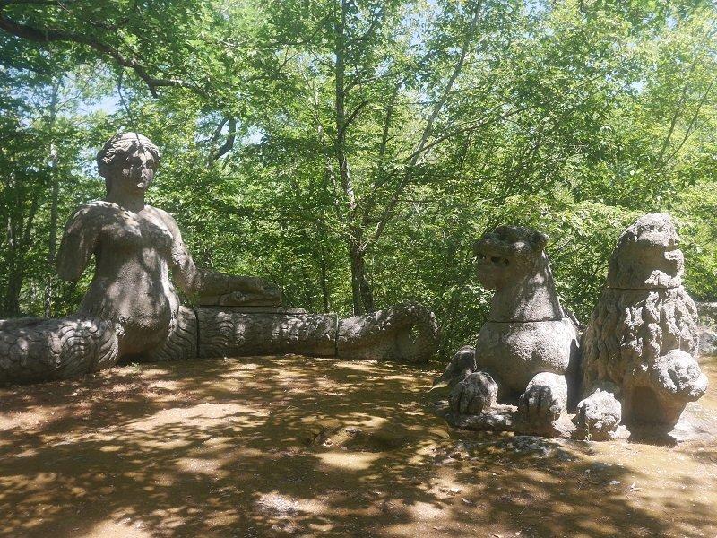 parc des monstres bomarzo