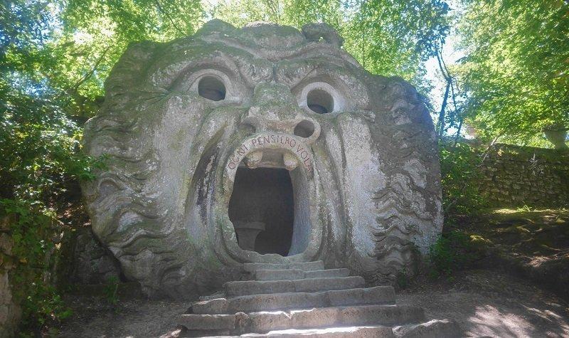 Parc des Monstres en Italie