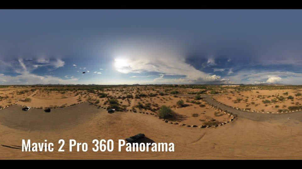 panorama mavic 2 pro