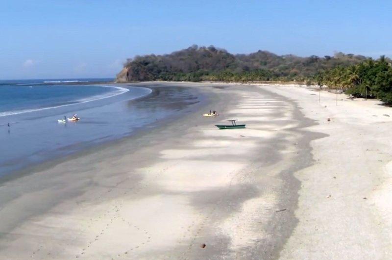 belle plage du costa rica