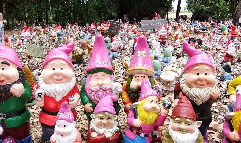 Gnomesville : visitez la ville des nains de jardin !