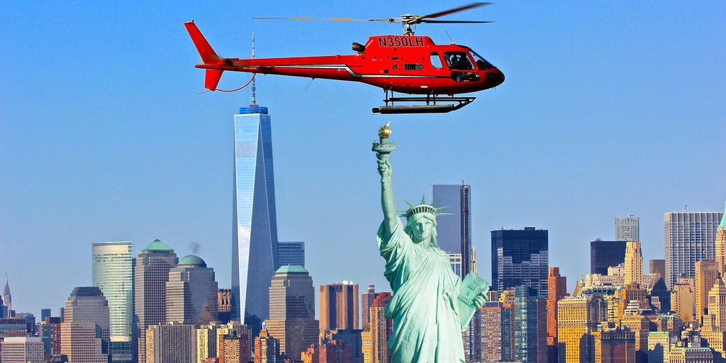 visiter new york en hélicopter