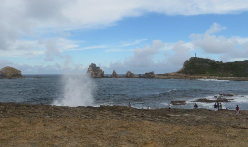 visiter la pointe des châteaux guadeloupe