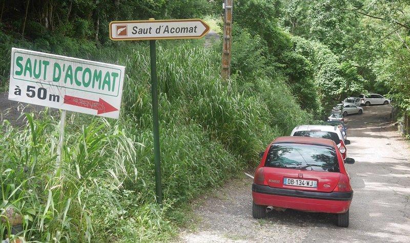 saut d'Acomat