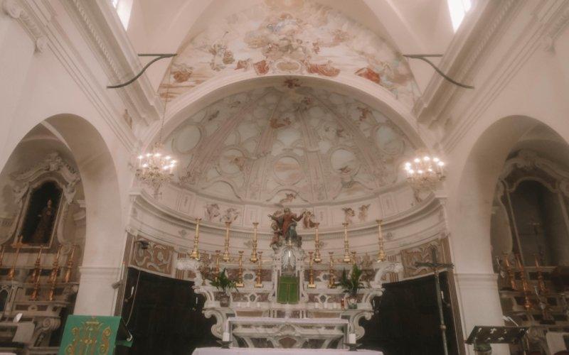 intérieur Église Sainte-Marie-Majeure