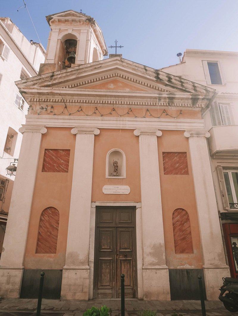 église saint jean baptiste ajaccio
