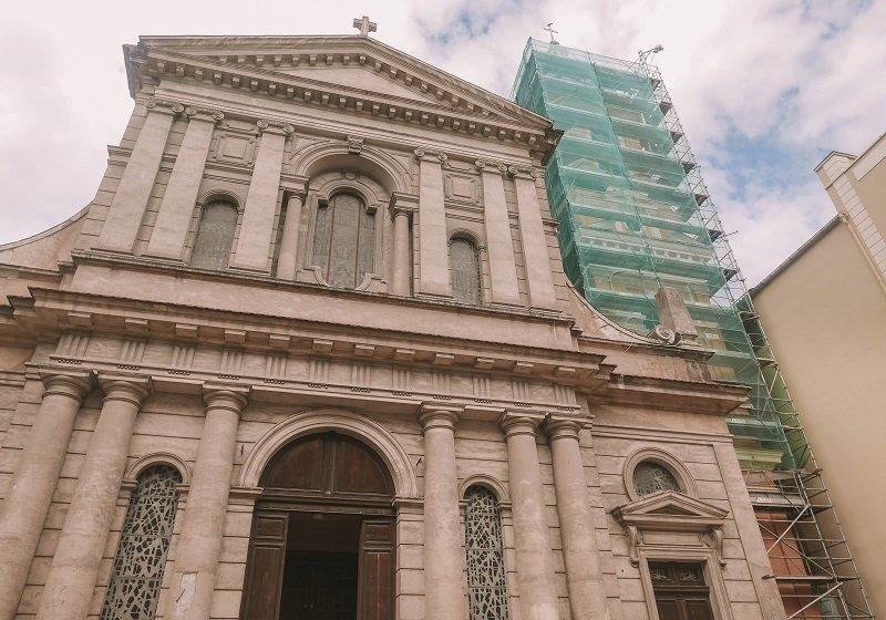 église saint roch travaux