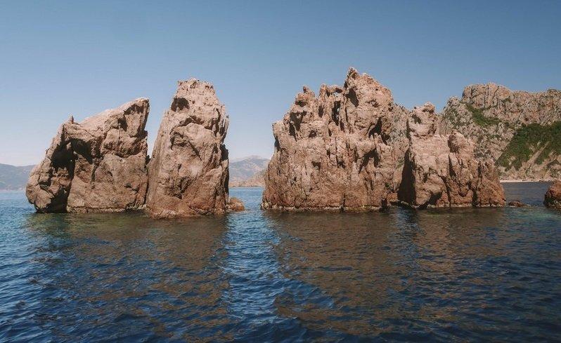 rochers calanques de piana