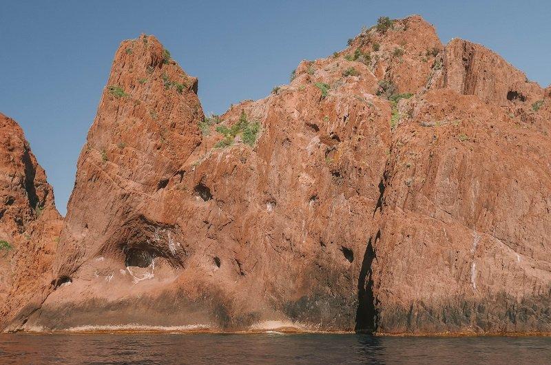 roche rose réserve de scandola