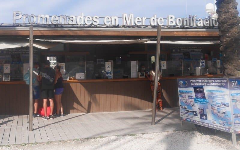 kiosque bateau bonifacio