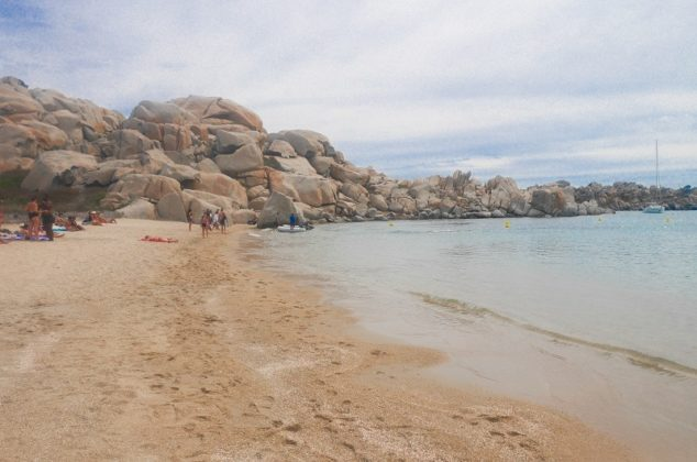 plage achiarina lavezzi