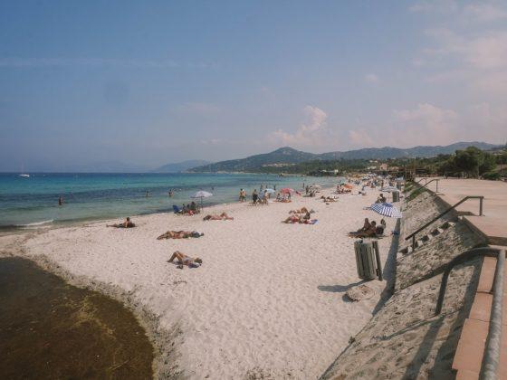 plage marinella ile rousse