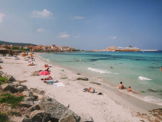 plage ile rousse marinella