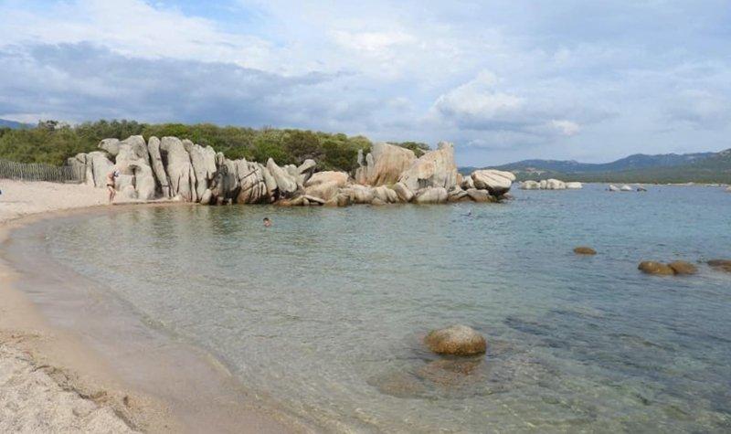 belle plage sud corse