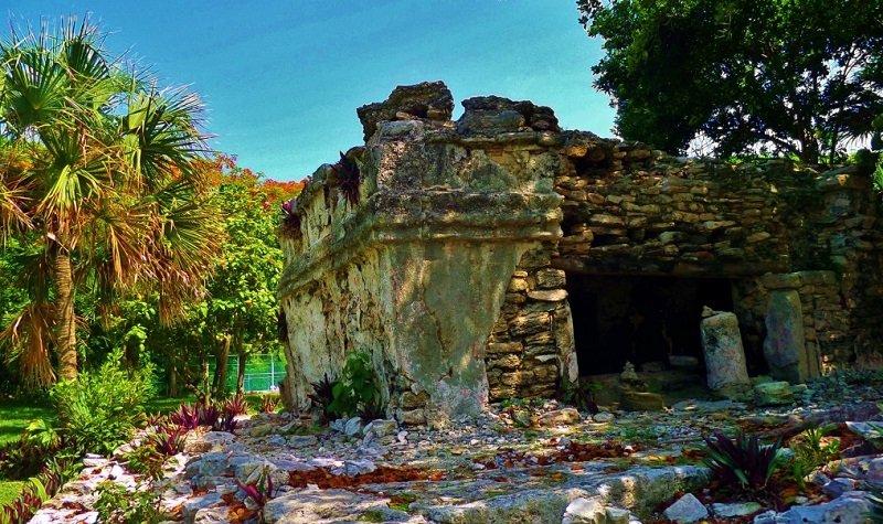 ruines maya playa del carmen