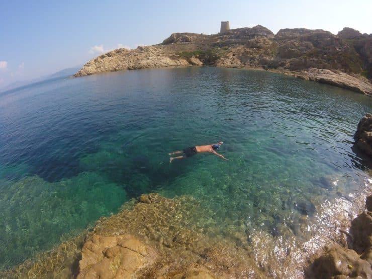 snorkeling ile rousse