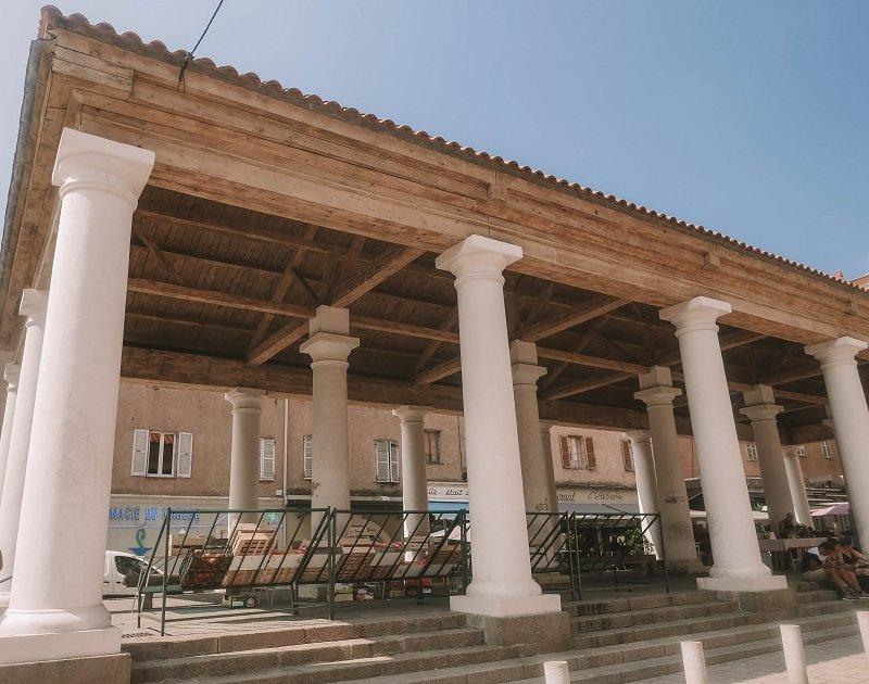 temple grec ile rousse