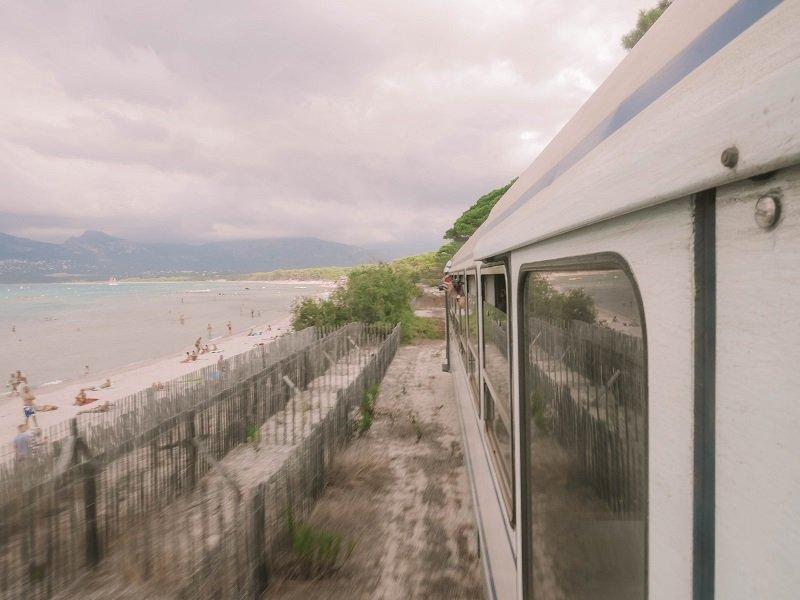 train des plages ile rousse