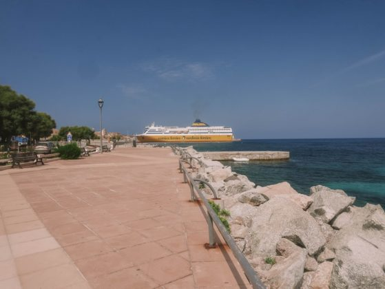 promenade marinella ile rousse