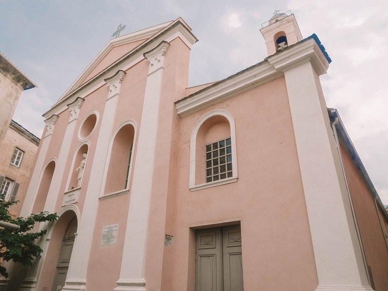 église de l'annonciation à corté