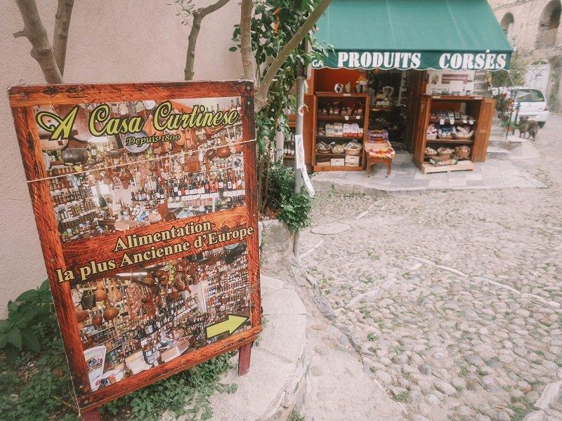 épicerie plus vieille d'europe