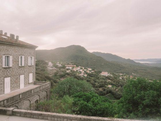 paysage sartène