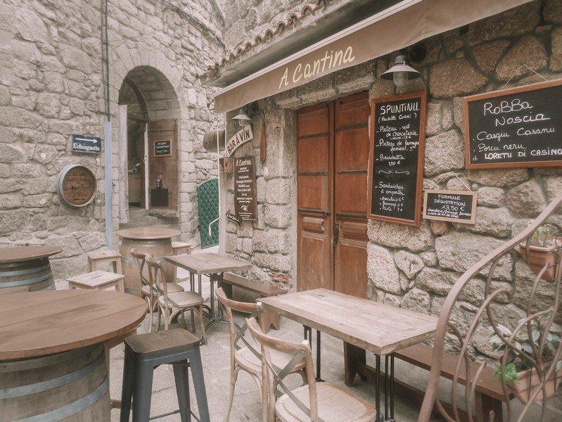 restaurant sartène